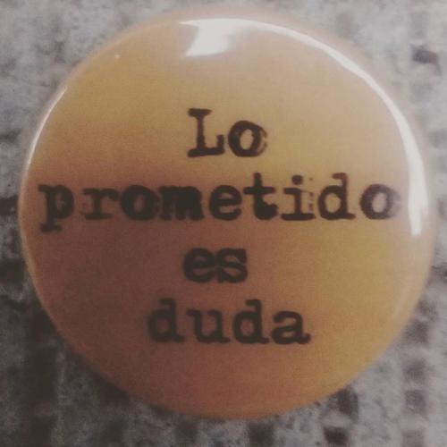 Lo prometido es duda.