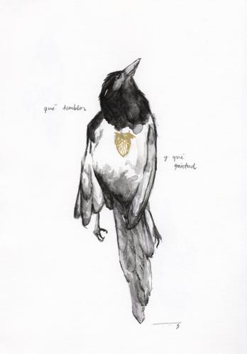 Serie Pájaros 11 / qué temblor y qué quietud